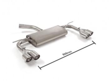 Ragazzon VW Golf VII  Endschalldämpfer / Sportauspuff Topline 2  1.6TDi (66 / 81kW) 2013>>
