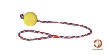 Wurfball am Seil 60 cm - Ballfarbe Gelb