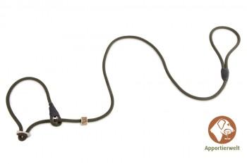 Firedog Moxonleine Profi 8 mm 130 cm khaki mit Zugbegrenzung