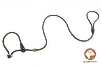 Firedog Moxonleine Profi 8 mm 150 cm khaki mit Zugbegrenzung