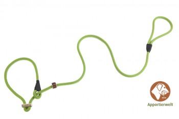 Firedog Moxonleine Profi 8 mm 150 cm hellgrün mit Zugbegrenzung