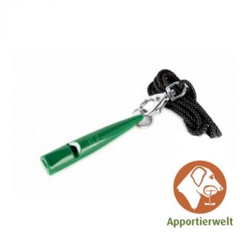 ACME Hundepfeife 210 1/2 dunkelgrün inklusive Pfeifenband
