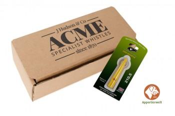 ACME Hundepfeife 210 1/2 gelb inklusive Pfeifenband