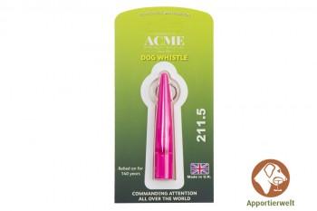 ACME Hundepfeife 211 1/2 pink inklusive Pfeifenband