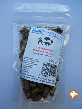 Bluefish Trainingssnacks Büffeleuter-Karotte 100g