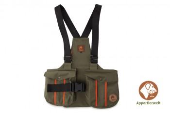 Firedog Dummyweste Trainer khaki mit Plastik-Klickverschluss