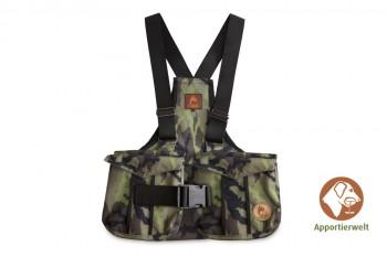 Firedog Dummyweste Trainer camo Größe XL mit Plastik-Klickverschluss