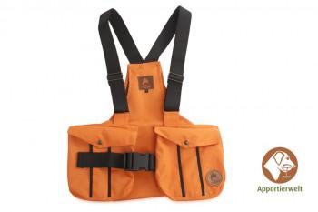 Firedog Dummyweste Trainer orange mit Plastik-Klickverschluss