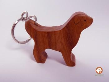 LABRADOR- handgearbeiteter Schlüsselanhänger aus HOLZ