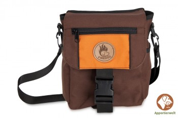 Firedog Mini Dummytasche DeLuxe braun/orange
