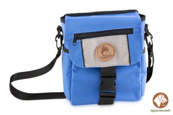 Firedog Mini Dummytasche DeLuxe blau/beige