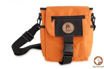 Firedog Mini Dummytasche DeLuxe orange/schwarz