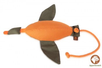 Firedog Entendummy groß 600 g orange/khaki
