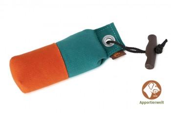Firedog Pocket Dummy 150 g grün/orange