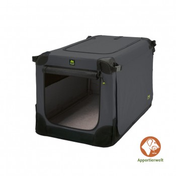 Maelson Soft Kennel faltbare Hundebox 62 Farbe anthrazit Größe XS