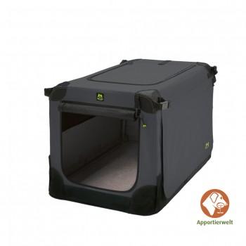 Maelson Soft Kennel faltbare Hundebox 92 Farbe anthrazit Größe L