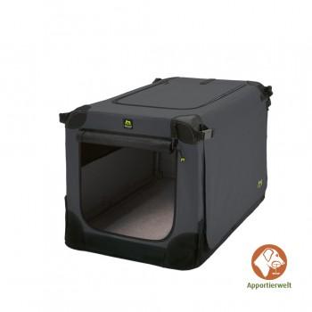 Maelson Soft Kennel faltbare Hundebox 105 Farbe anthrazit Größe XL