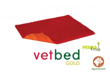 Vetbed® Gold rot 100 x 150 cm