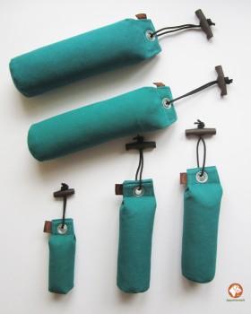 Dummy-Starter Set -5 grüne Dummies in drei Größen + 1 ACME-Pfeife Blau