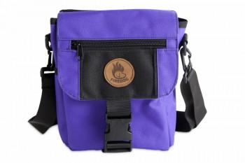Firedog Mini Dummytasche DeLuxe violett/schwarz