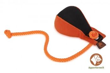 Firedog Dummyball 150 g schwarz/orange