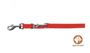 Welpen- Führleine MIAMI Länge 200 cm -Breite 1,5- Rot