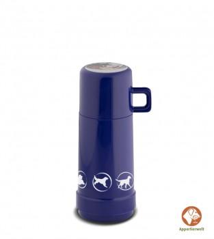 Isolierflasche Farbe Blau ca. 1 Liter