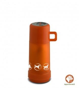 Isolierflasche Farbe Orange ca. 1 Liter