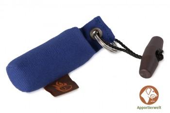 Firedog Dummy MINI / Schlüsselanhänger blau