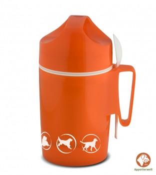 Isolier-Speisegefäß Farbe Orange