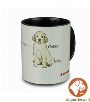 Tasse mit Golden Retriever Motiv