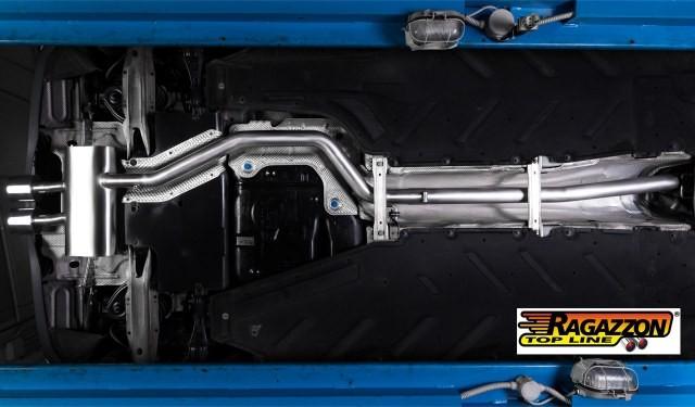 Ragazzon Mercedes A-Klasse ( W 176) Endschalldämpfer / Sportauspuff 2 A160CDI (66kW) 2013>>09/2015