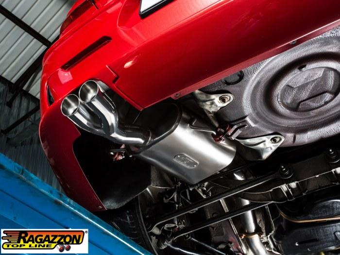 Alfa romeo 159 exhaust sound 13