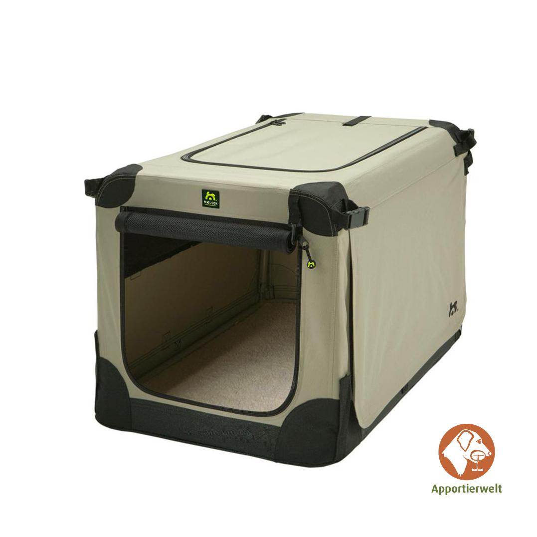 hundebox gr e xxl beige maelson hundekennel. Black Bedroom Furniture Sets. Home Design Ideas