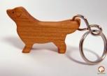 GOLDEN RETRIEVER- handgearbeiteter Schlüsselanhänger aus HOLZ