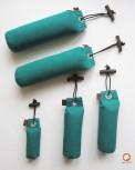 Dummy-Starter Set - 5 grüne Dummies in drei Größen + 1 ACME-Pfeife Beige