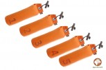 Firedog 5-er Set Standard Dummy 500 g orange nummeriert 1-10